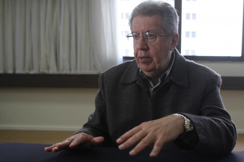 Eleições 2016    Entrevista com Raul Pont, candidato à prefeitura de Porto Alegre.     na foto: Raul Pont