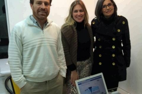 Encontro de formatação do Projeto Escola: Dr. Mauro Scarpini, diretora de marketing Aline Fontoura e Dra. Joice Giannechini #NaBatalha