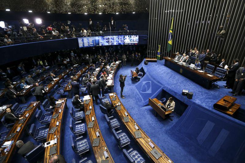 Brasília - Tem início o primeiro dia da sessão de julgamento do impeachment da Presidente afastada, Dilma Rousseff. (Marcelo Camargo/Agência Brasil)