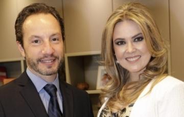 Mauro Chies e Daniela Leães inauguraram a Clínica Visão, em Caxias do Sul