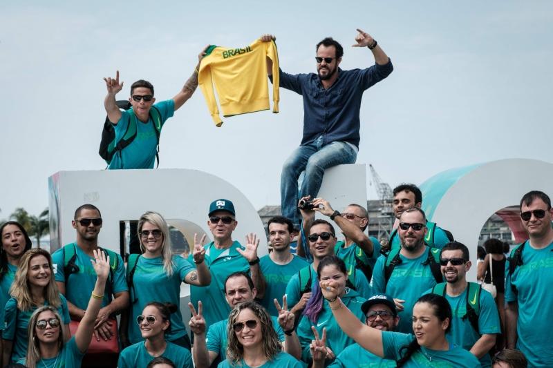 Time paralímpico brasileiro chega ao Rio de Janeiro