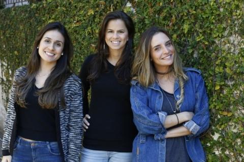Criadoras do projeto Milhas do Bem, Patrícia Flores, Luciana Russowsky e Celina Spoalor