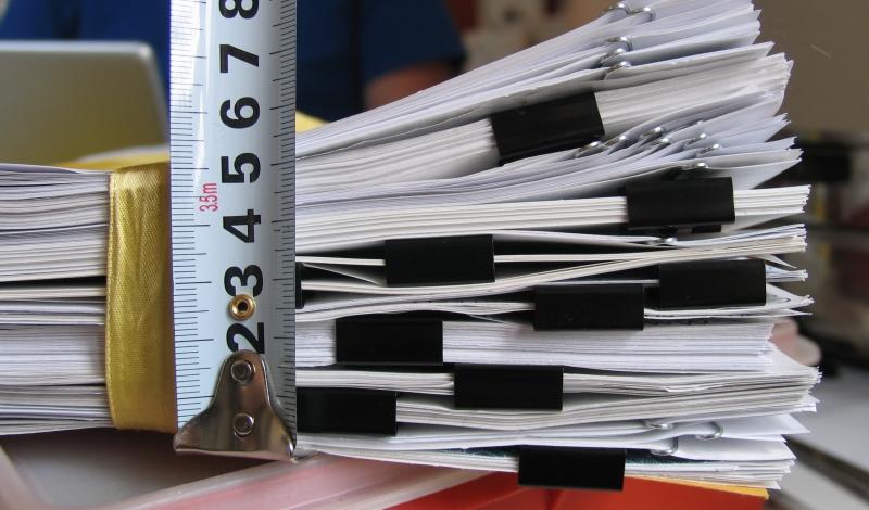 Contabilidade - burocracia  - divulgação visualhunt