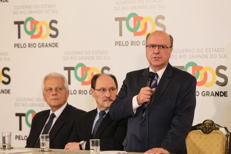 Sartori anunciou o novo secretário de Segurança Pública do Rio Grande do Sul, Cézar Schirmer