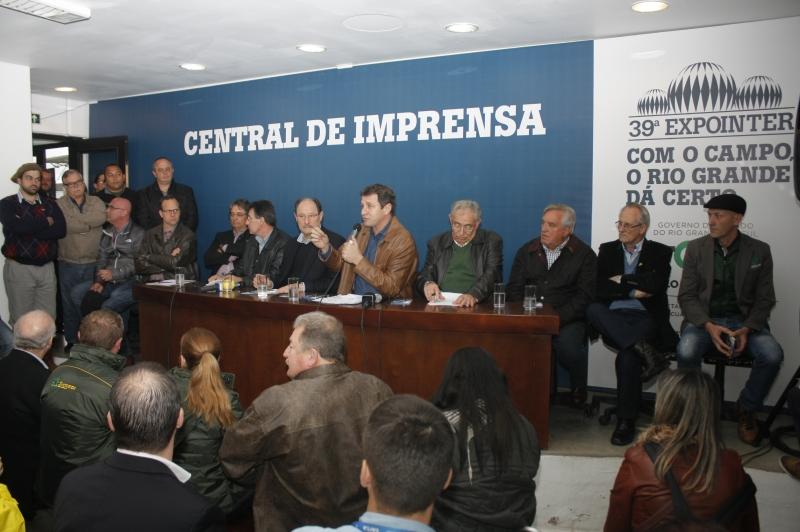 Entidades e governo fazem balanço dos resultados da Expointer, que teve alta de 12,6% em vendas