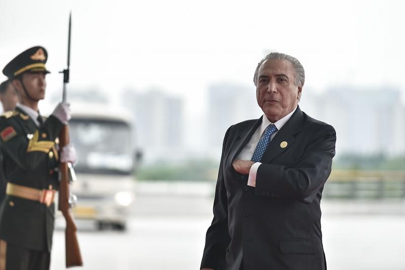 Presidente brasileiro participou do encontro em Hangzhou, na China