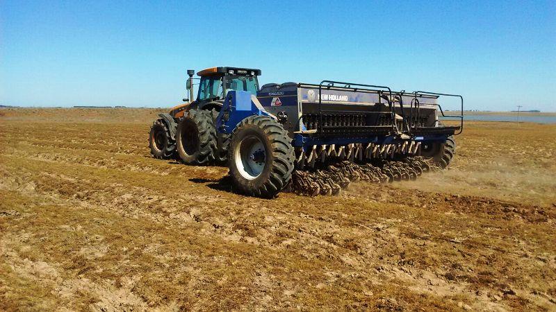 Produtores já começaram o plantio da nova safra na Fronteira Oeste