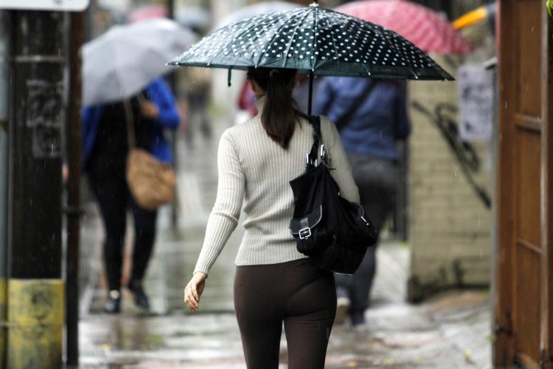 Na Capital, a chuva é intensa desde o início da terça-feira