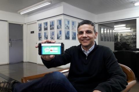 Luciano Antunes é o otimista idealizador do Pense Votos
