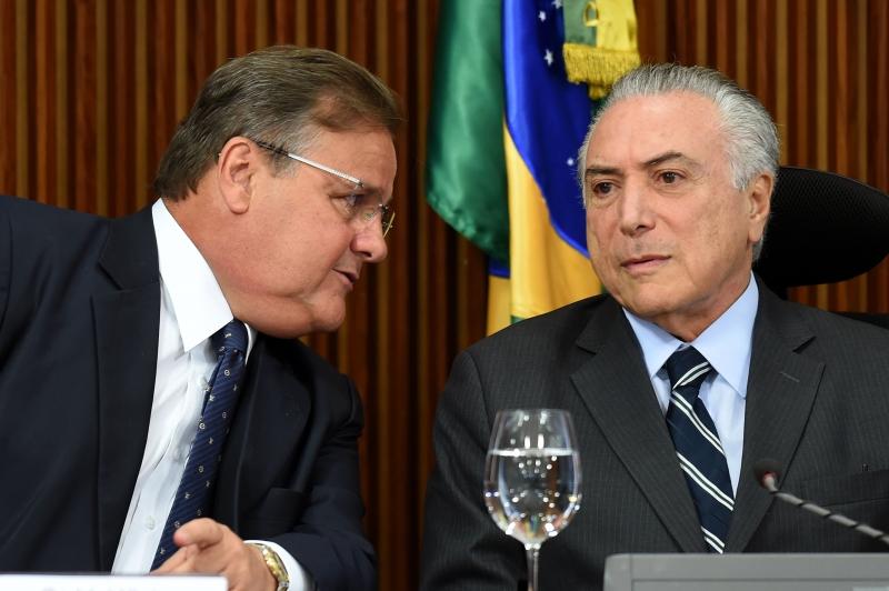 Geddel Vieira Lima (esquerda) hoje está preso e foi vice-presidente da Caixa entre 2011 e 2013