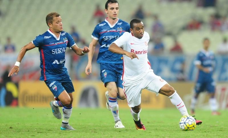 Anderson teve atuação apagada no confronto no estádio Castelão