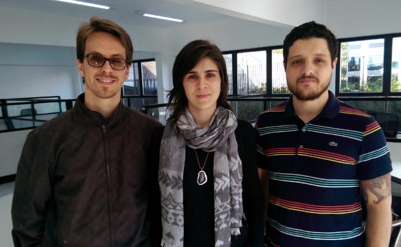 Marcos Berghahn, Thaís Serafini e Gustavo Zanette #NaBatalha do e-commerce