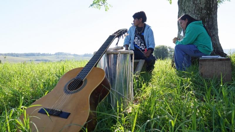 Índios Mbya-Guarani, de Santa Maria, participam de documentário