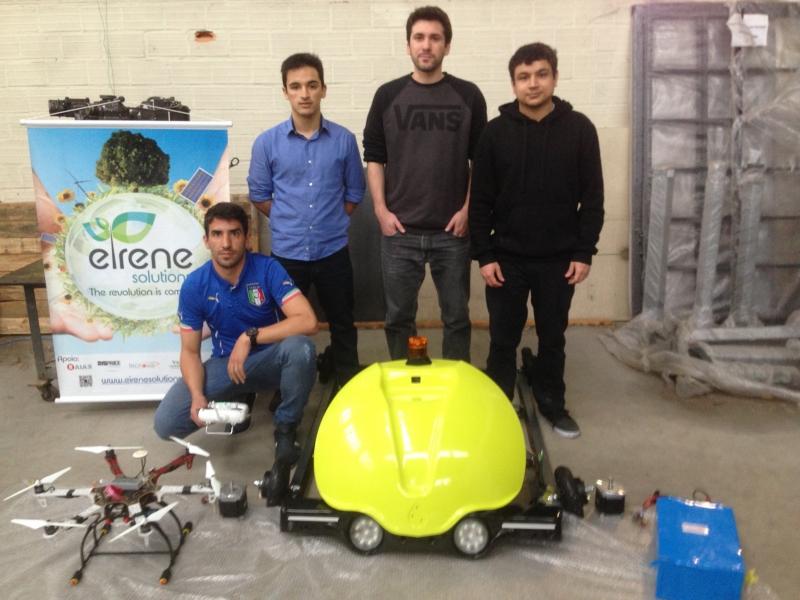Empresa lançou sistema autônomo e elétrico de pulverização para agricultura