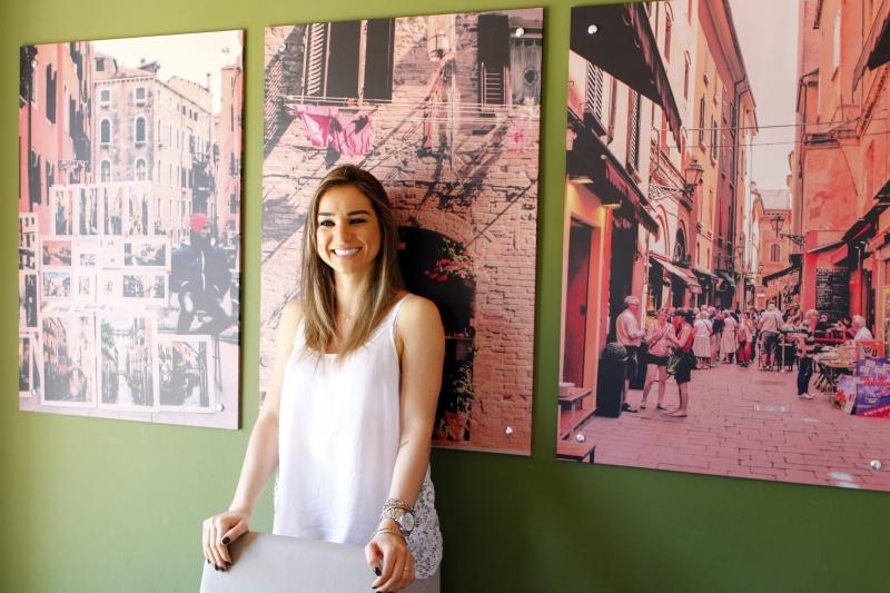 Larissa de Sordi abriu o Zola Enococina na avenida Copacabana, no bairro Assunção, em Porto Alegre, inspirada em cenas que viu enquanto turista em partes da Europa