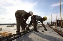 Indústria da construção usou 57% da capacidade em março