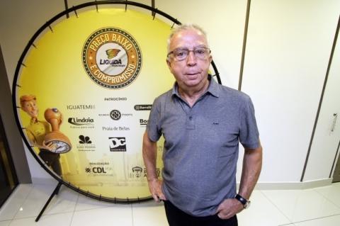 CAFÉ DA MANHÃ NO CDL  PARA O LANÇAMENTO DO LIQUIDA PORTO ALEGRE.    NA FOTO: JOSÉ ROBERTO RESENDE, VICE-PRESIDENTE DE MARKETING E RELAÇÕES INTERNACIONAIS DA CDL.