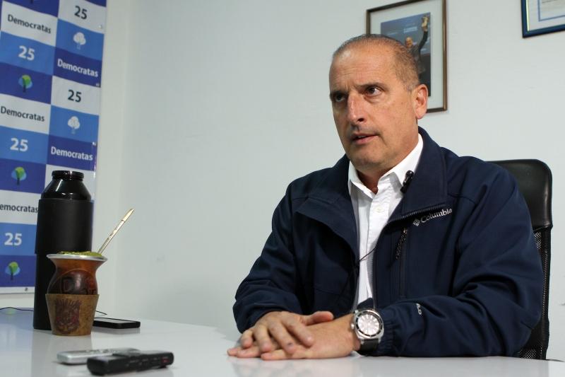 Entrevista especial com o deputado federal Onyx Lorenzoni (DEM)
