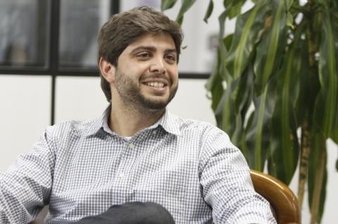Entrevista com o vereador eleito pelo partido NOVO, nas eleições municipais de 2016, Felipe Camozzato     na foto: Felipe Camozzato