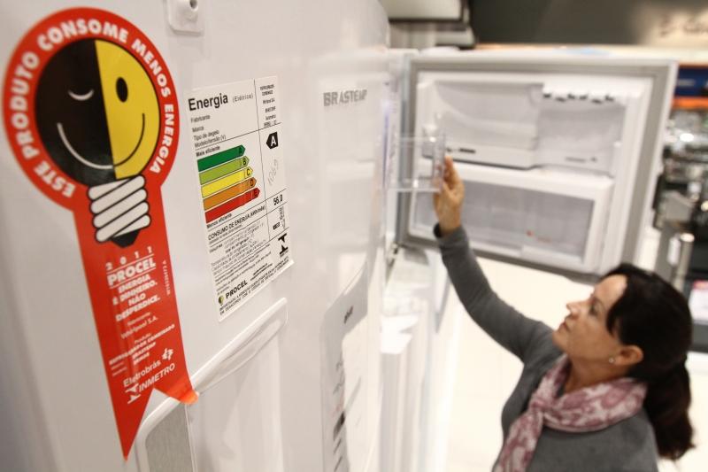 Consumidor terá 50% de bônus na troca por eletros com selo Procel