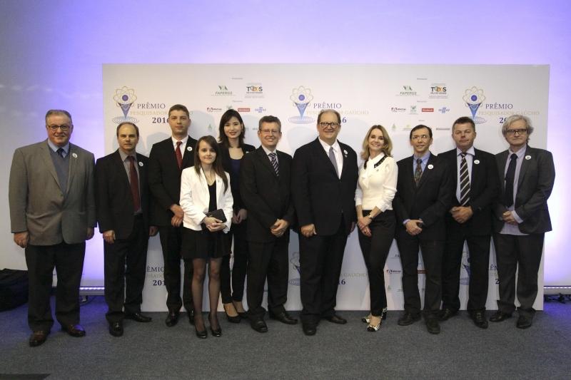Honraria homenageou 10 pesquisadores com relevantes contribuições em seis áreas do conhecimento