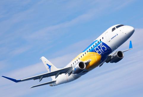 Jato E175 foi certificado pela Agência Federal de Transporte Aéreo da Rússia e permite venda