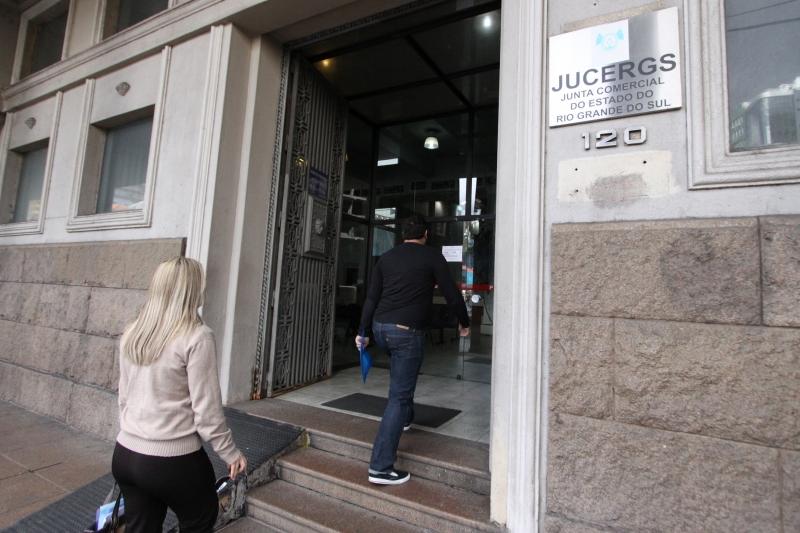 FOTOS DA PRESIDÊNCIA E DA FACHADA DA JUNTA COMERCIAL, JUCERGS    NA FOTO: JUCERGS
