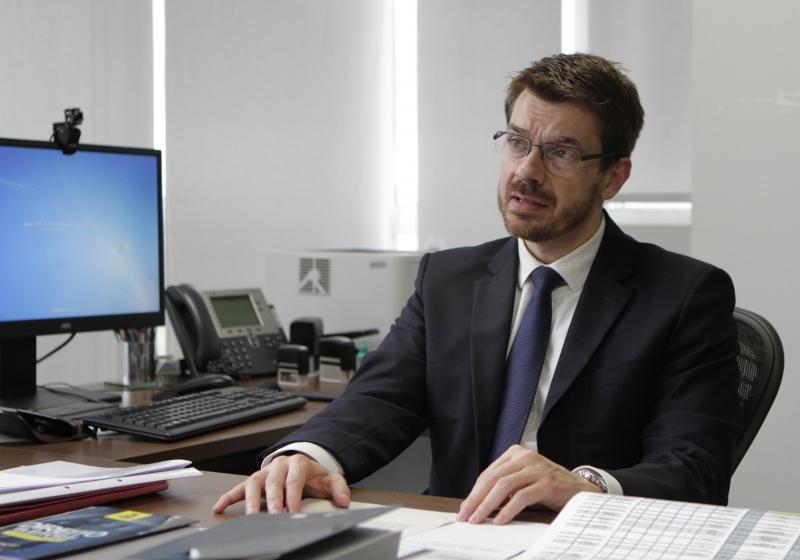 Entrevista especial com o procurador regional eleitoral do RS, Marcelo Veiga Beckhausen. Na sede do MPF/RS