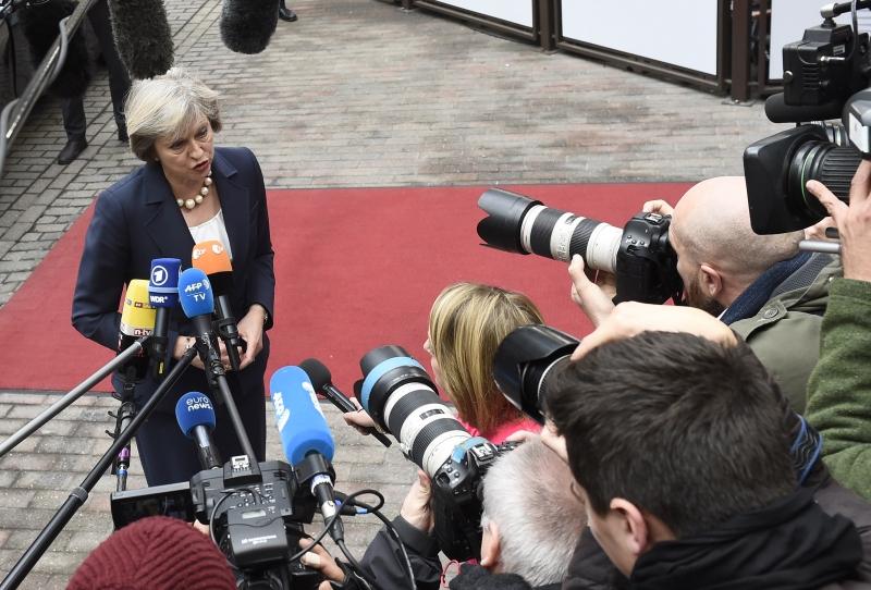 Premiê garantiu que irá buscar um 'ambicioso' acordo comercial