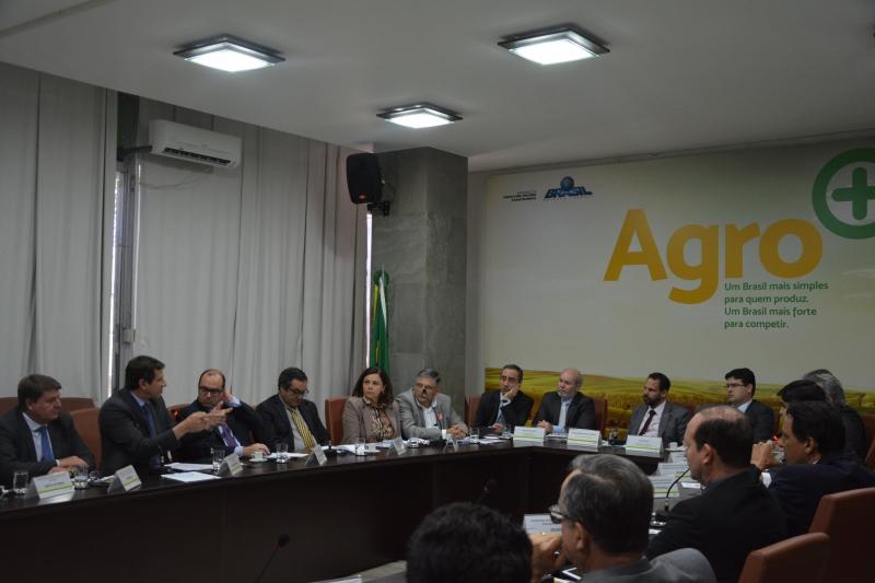 Secretários de Agricultura discutiram a operacionalização do plano com o ministério