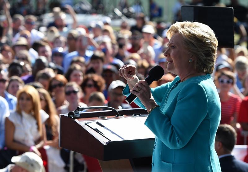Hillary Clinton alcançou 51% da preferência do eleitorado
