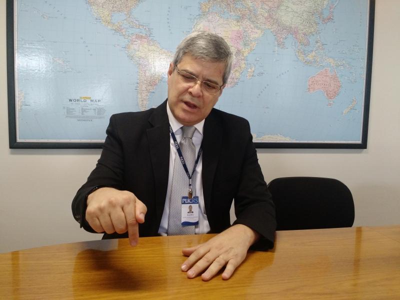 Alziro é diretor na Pucrs e assumirá como decano em dezembro
