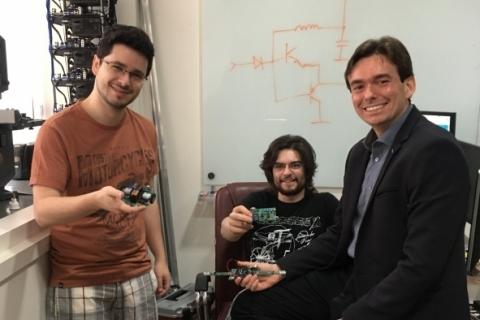Diego dos Santos, Grégory Gusberti e  Diego Trindade  #NaBatalha das montagens