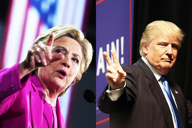 A pesquisa mostra que Hillary Clinton, está 3 pontos à frente de Donald Trump