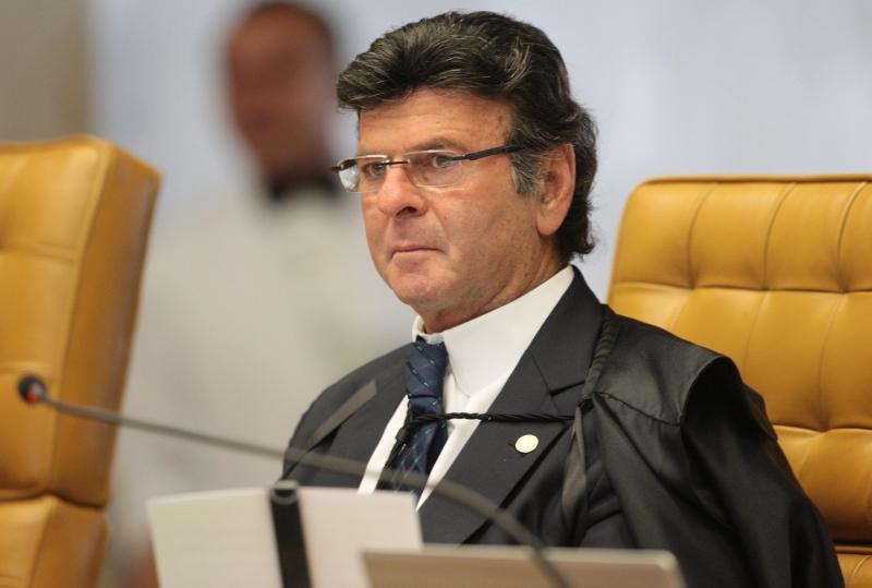 POL - Luiz Fux, foto Carlos Humberto, STF