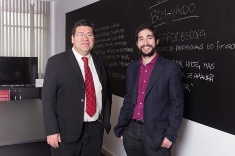 Humberto Girardi (e) e Henrique Girardi #NaBatalha da capacitação