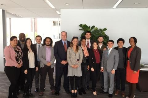 Grupo do Ylai com o deputado Dan Kildee