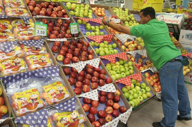 A  queda nesses preços foi influenciada pelos alimentos in natura