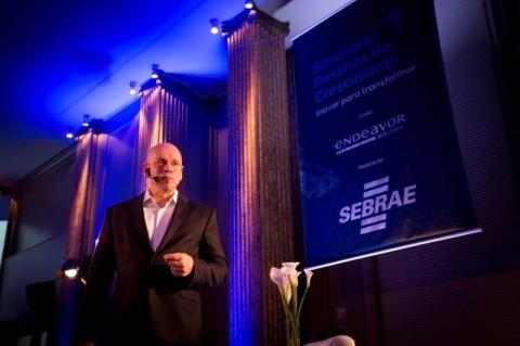 O professor participou de um evento organizado pelo Sebrae
