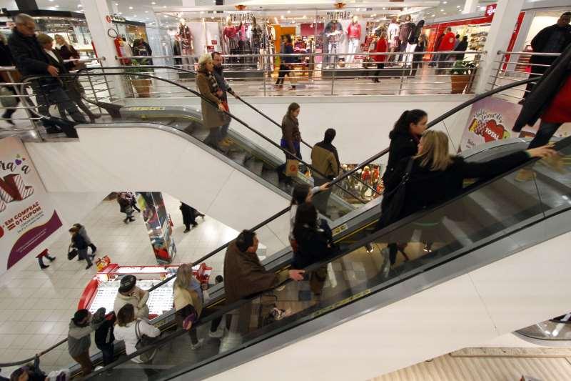 vendas em varejo consumo shopping