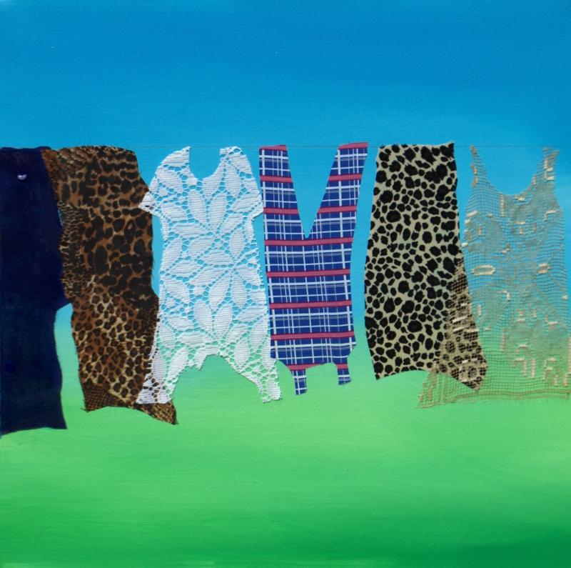 Obra de Ainez Aranha Rosito faz parte da mostra Assemblage