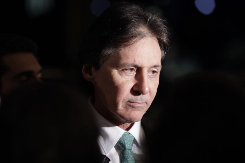 POL - senador Eunício Oliveira, foto Wendel Lopes PMDB
