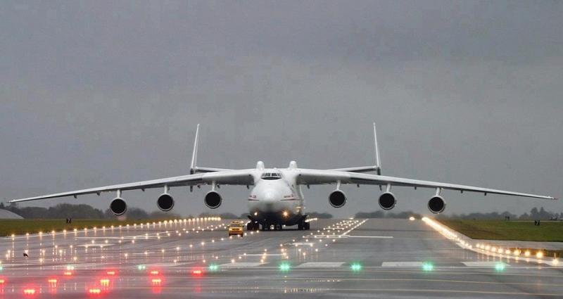 Maior avião do mundo, Antonov An-225 Mriya vai posar no Brasil para carregar transformador gigante