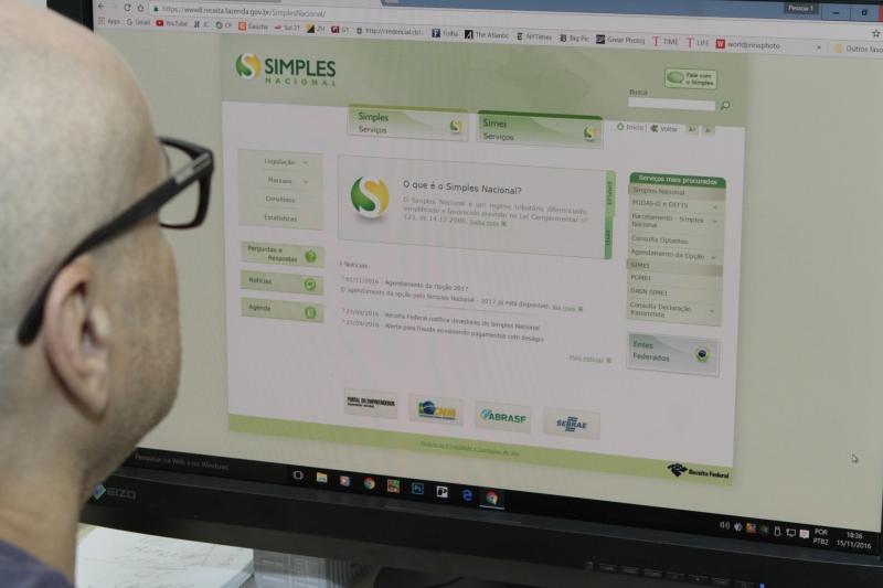 Consulta no Site Secretaria da Fazenda do Simples Nacional