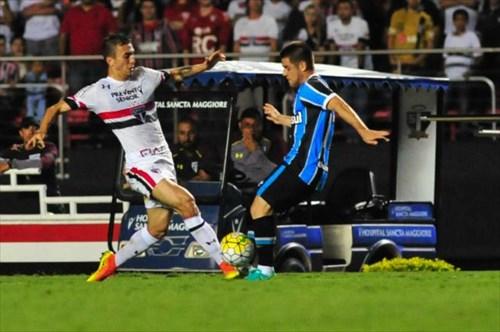 Grêmio arrancou o empate contra o São Paulo no Morumbi