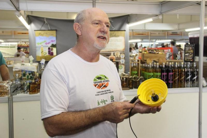 Luiz Antônio Scarton criou o produto pela necessidade de obter um chimarrão de qualidade