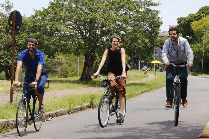 Pauta do GeraçãoE com os sócios da Spino Bike, empresa que faz bicicletas sob medida.