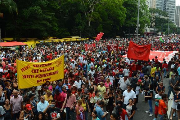 Protestos contra PEC 55 em São Paulo - Frente Brasil sem Medo