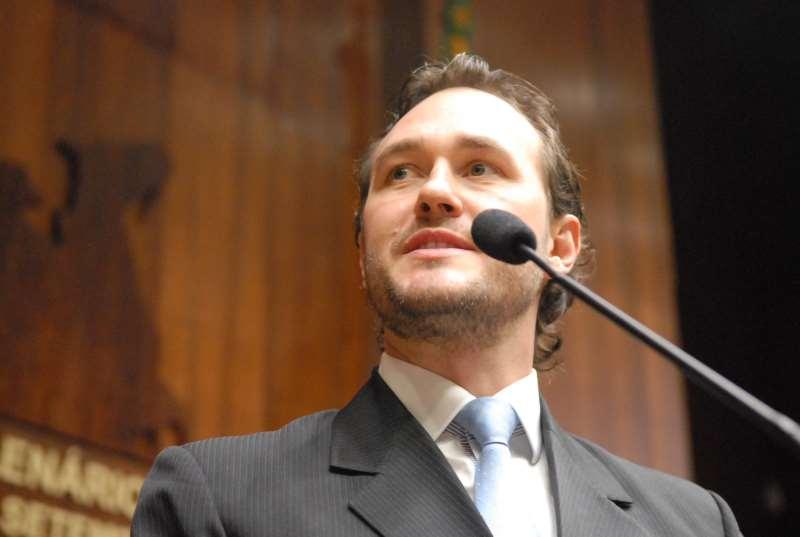 deputado estadual Vinicius Ribeiro (PDT)