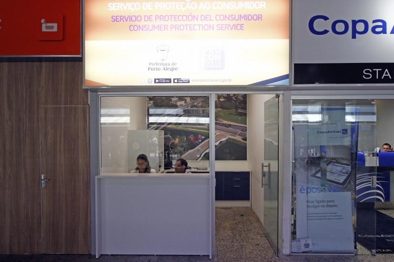 Esta é a primeira unidade de atendimento de um órgão de defesa do consumidor localizada em um aeroporto
